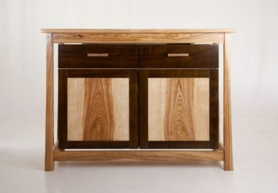 How to Turn Your Cabinets Into Rattan Sideboards